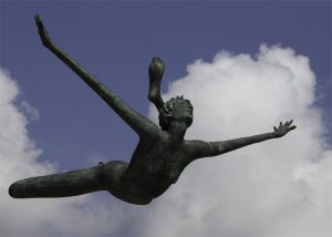 Flying-Statue, Jersey