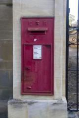 In a stone pillar in Oxford