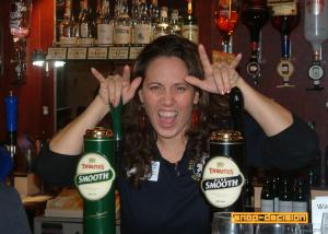 The Friendly Barmaid