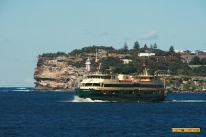 Ferry at South Head