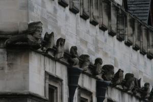 Gargoyles, Magdalen College, Oxford