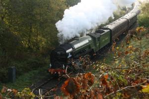 Tornado on East Lancs Railway