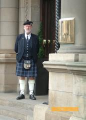 Hotel Doorman, Edinburgh