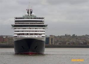 Queen Victoria head-on