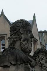 Greek figure at Sheldonian, Oxford