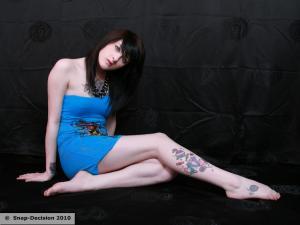 Miss in Blue