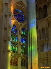 Sagrada Familia light