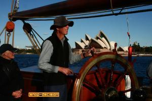 Sailing into Sydney