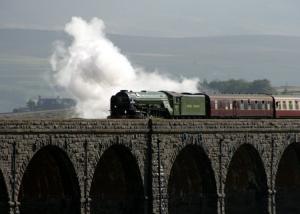Tornado crossing Ribblehead Viaduct