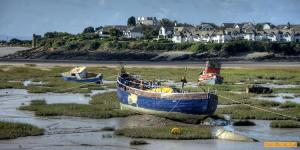 Barry at low tide